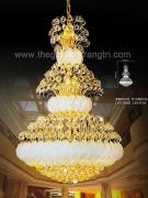 Đèn Chùm Pha Lê QN5718 Ø800