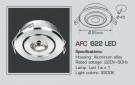 Đèn Tủ Bếp Led 1W AFC 622 Ø45