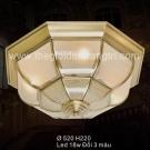 Đèn Áp Trần Đồng SN6314 Ø520