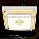 Đèn Áp Trần LED SN6385 520x520
