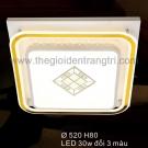 Đèn Áp Trần LED SN6386 520x520