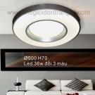 Đèn Áp Trần LED SN6539 Ø500