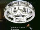 Đèn Áp Trần Pha Lê Led QN6897 Ø600