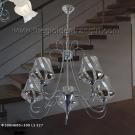 Đèn Chùm Inox QN6947 Ø500