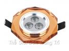 Đèn LED Gắn Tủ SN3751 Ø60