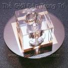 Đèn Ốp Trần Kính AC1-382 Ø180