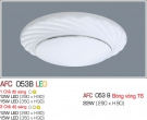 Đèn Ốp Trần Nhựa Led 12W AFC 053B Φ290