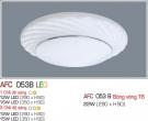 Đèn Ốp Trần Nhựa Led 15W AFC 053B Φ350