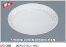 Đèn Áp Trần Acrylic AFC 056 Ø500