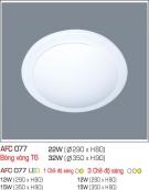 Đèn Ốp Trần Nhựa Led 15W AFC 077 Φ350