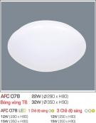 Đèn Áp Trần Led 3 Chế Độ AFC 078 12W Ø290