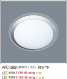 Đèn Led Ốp Trần 3 Chế Độ 12W AFC 092 Ø320