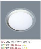 Đèn Ốp Trần Nhựa Led 12W AFC 092 Φ320