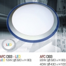 Đèn Áp Trần Led 3 Chế Độ AFC 093 12W Ø320