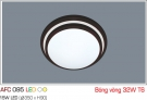 Đèn Mâm Ốp Trần Nhựa 32W AFC 095 Φ350