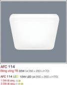 Đèn Ốp Trần Vuông Acrylic Led 12W AFC 114 260x260