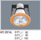 Đèn Lon Âm Trần AFC 281AL Φ100