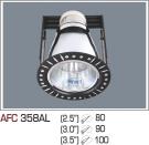 Đèn Lon Âm Trần AFC 358AL Ø80