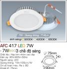 Đèn Downlight LED Đổi Màu 7W AFC 417 Ø75