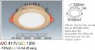 Đèn Downlight LED 3 Màu 12W AFC 417V Ø100