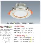 Đèn Led Âm Trần 3 Chế Độ Ánh Sáng 12W AFC 418 Φ120