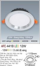 Đèn Downlight LED Đổi Màu 12W AFC 441B Ø115