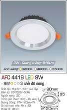 Đèn Downlight LED Đổi Màu 9W AFC 441B Ø90