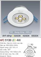 Đèn Mắt Ếch LED 4W AFC 510 Ø70