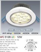 Đèn Downlight LED 12W AFC 512B Ø110