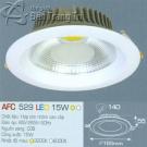 Đèn Downlight Led 15W AFC 529 Ø140