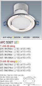 Đèn Downlight Led 5W AFC 532T Ø80
