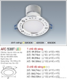 Đèn Downlight Led 5W AFC 538T Ø80