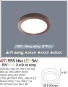 Đèn Ốp Trần LED Tròn 6W AFC 555N Ø120