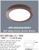 Đèn Áp Trần LED Đổi Màu 18W AFC 555N Ø240