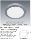 Đèn Áp Trần LED Đổi Màu 18W AFC 555X Ø240