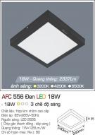 Đèn Áp Trần LED 18W AFC 556D 240x240