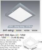 Đèn Áp Trần LED Đổi Màu 12W AFC 556X 180x180