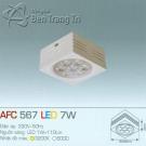 Đèn Led Gắn Nổi 7W AFC 567 80x80