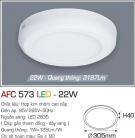 Đèn Áp Trần LED 22W AFC 573 Ø305