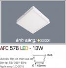 Đèn Áp Trần LED 13W AFC 576 145x145