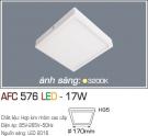 Đèn Áp Trần LED 17W AFC 576 170x170