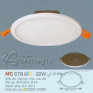 Đèn Downlight Led 22W AFC 578 Ø150