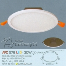 Đèn Downlight Led 30W AFC 578 Ø205