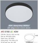 Đèn Áp Trần LED 40W AFC 579D Ø300