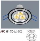 Đèn Mắt Ếch AFC 617D Ø60