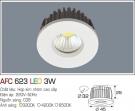 Đèn LED Âm Trần Gắn Tủ 3W AFC 623 Ø32