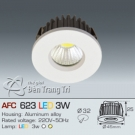 Đèn Downight Led 3W AFC 623 Ø32