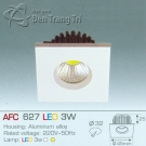Đèn Downlight Led 3W AFC 627 32x32