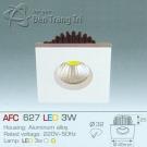 Đèn Downlight Led 3W AFC 627 32x32
