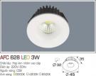 Đèn LED Âm Trần Gắn Tủ 3W AFC 628 Ø32